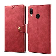 Lenuo Leather for Huawei Nova 3, Red - Mobile Phone Case