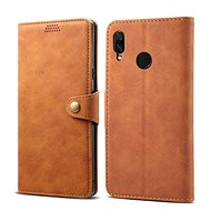 Lenuo Leather for Huawei Nova 3, Brown - Mobile Phone Case