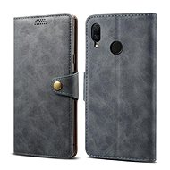 Lenuo Leather for Huawei Nova 3, Grey - Mobile Phone Case