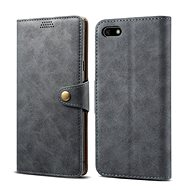 Lenuo Leather for Huawei Y5 (2018), Grey - Mobile Phone Case