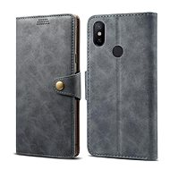 Lenuo Leather on Xiaomi Mi A2, Grey