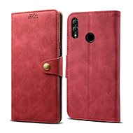 Lenuo Leather for 10 Lite, Red - Mobile Phone Case