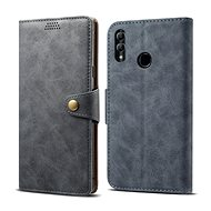 Lenuo Leather for 10 Lite, Grey - Mobile Phone Case