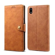 Lenuo Leather for Xiaomi Redmi 7A, brown - Mobile Phone Case
