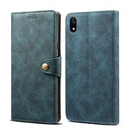 Lenuo Leather for Xiaomi Redmi 7A, blue - Mobile Phone Case