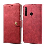 Lenuo Leather for Honor 20 lite, red