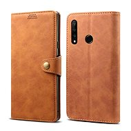 Lenuo Leather for Honor 20 lite, Brown - Mobile Phone Case