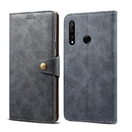 Lenuo Leather for Honor 20 lite, grey - Mobile Phone Case