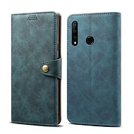 Lenuo Leather for Honor 20 lite, blue - Mobile Phone Case