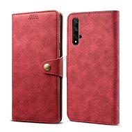 Lenuo Leather for Honor 20, red - Mobile Phone Case