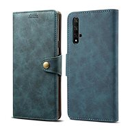 Lenuo Leather for Honor 20, blue - Mobile Phone Case
