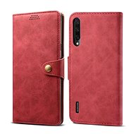 Lenuo Leather for Xiaomi Mi A3, red - Mobile Phone Case