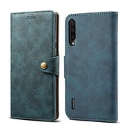 Lenuo Leather for Xiaomi Mi A3, blue - Mobile Phone Case