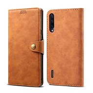 Lenuo Leather for Xiaomi Mi A3, brown - Mobile Phone Case