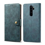 Lenuo Leather for Xiaomi Redmi Note 8 Pro, blue - Mobile Phone Case