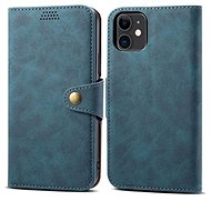Lenuo Leather for iPhone 11, blue - Mobile Phone Case