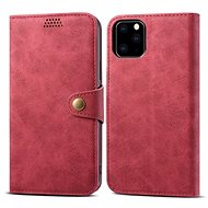 Lenuo Leather for iPhone 11 Pro, red - Mobile Phone Case