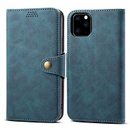 Lenuo Leather for iPhone 11 Pro, blue - Mobile Phone Case
