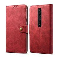 Lenuo Leather for Xiaomi Redmi 8, red - Mobile Phone Case