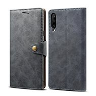 Lenuo Leather for Huawei P Smart Pro/Y9s, Grey - Mobile Phone Case