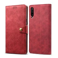 Lenuo Leather for Huawei P Smart Pro/Y9s, Red - Mobile Phone Case