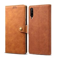 Lenuo Leather for Huawei P Smart Pro/Y9s, Brown - Mobile Phone Case