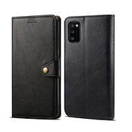 Lenuo Leather for Samsung Galaxy A41, Black - Mobile Phone Case