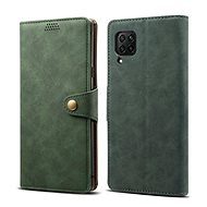 Mobile Phone Case Lenuo Leather for Huawei P40 Lite, Green - Pouzdro na mobil