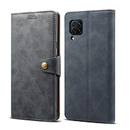 Lenuo Leather for Huawei P40 Lite, Grey - Mobile Phone Case