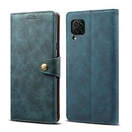 Lenuo Leather for Huawei P40 Lite, Blue - Mobile Phone Case