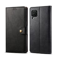 Mobile Phone Case Lenuo Leather for Huawei P40 Lite, Black - Pouzdro na mobil