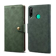 Lenuo Leather for Huawei P40 Lite E, Green - Mobile Phone Case