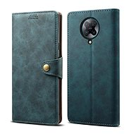 Lenuo Leather for Xiaomi Poco F2 Pro, Blue - Mobile Phone Case