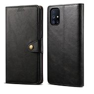 Mobile Phone Case Lenuo Leather for Samsung Galaxy M51, Black - Pouzdro na mobil