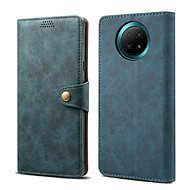 Lenuo Leather for Xiaomi Redmi Note 9T, Blue - Mobile Phone Case