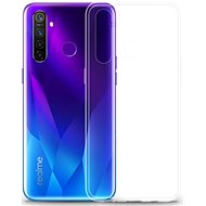Lenuo Transparent for Realme 5 Pro/Q, Clear - Mobile Case