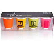 LES ARTISTES A-0790 mix, mug set 4pcs 100ml - Mug