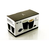LES ARTISTES A-0631 Black Mug Set 2pcs 180ml - Mug