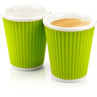 LES ARTISTES A-0632 Green Mug Set 2pcs 180ml - Mug