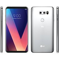 LG V30 Cloud Silver - Mobile Phone
