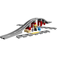 LEGO DUPLO 10872 Train Bridge and Tracks - Building Kit