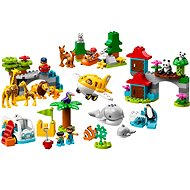 LEGO DUPLO Town 10907 World Animals - Building Kit