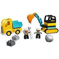 LEGO DUPLO Town 10931 Town Truck & Tracked Excavator - LEGO Building Kit