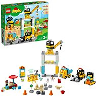 LEGO DUPLO Town 10933 Tower Crane & Construction - LEGO Building Kit