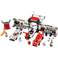 LEGO Speed Champions 75876 Porsche 919 Hybrid and 917K Pit Lane - Building Kit