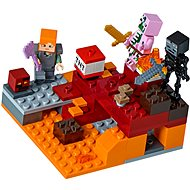 LEGO Minecraft 21139 The Nether Fight - Building Kit