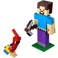LEGO Minecraft 21148 Steve Bigfig with Parrot - Building Kit