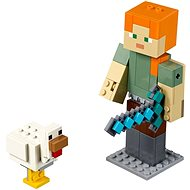 LEGO Minecraft 21149 Minecraft: Alex BigFig with Chicken - Building Kit