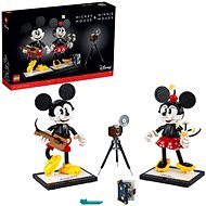 LEGO Disney Princess 43179 Mickey Mouse and Minnie Mouse - LEGO Building Kit
