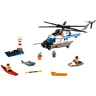 LEGO City Coast Guard 60166 Heavy-duty Rescue Helicopter - Building Kit